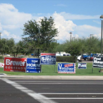 Political Signs are broadly permitted