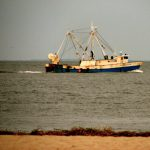 Fishing Boat off the Jersey Shore