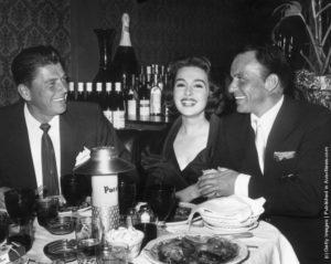Sinatra and Reagan