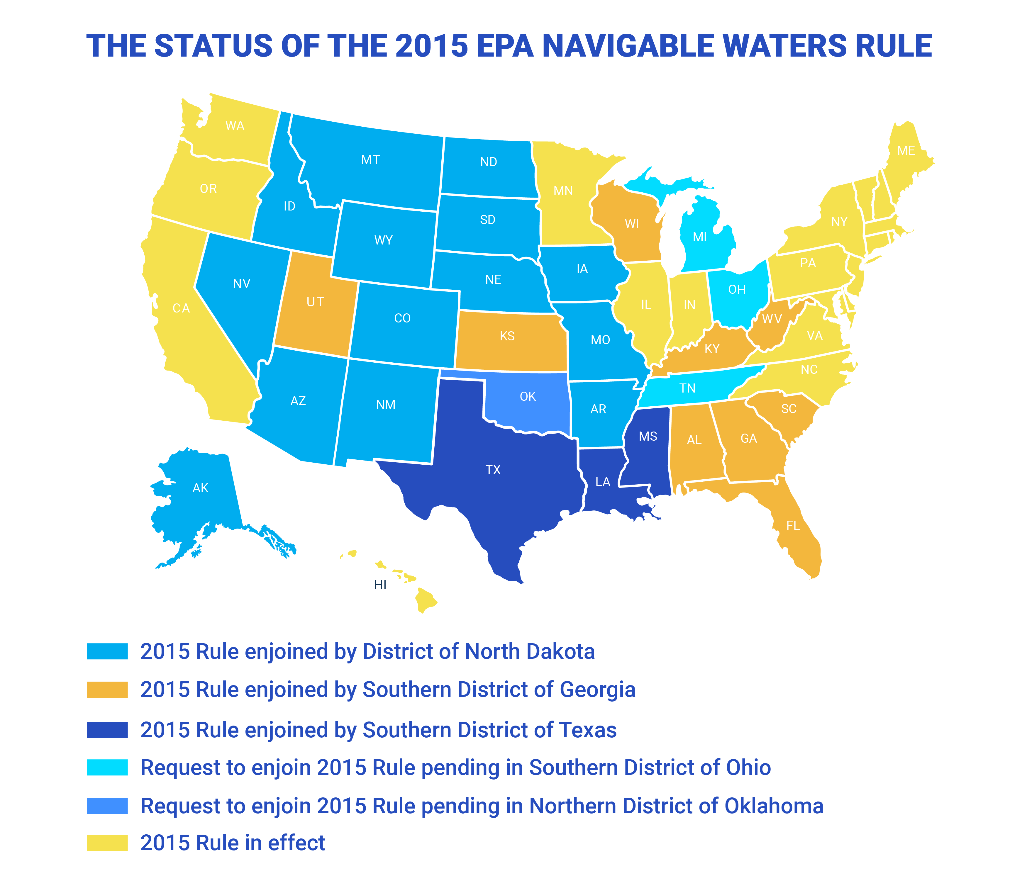 Us Navigable Waters Map How to find out if the EPA's 'navigable waters' regulations affect