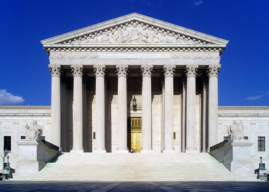 Supreme Court West Facade