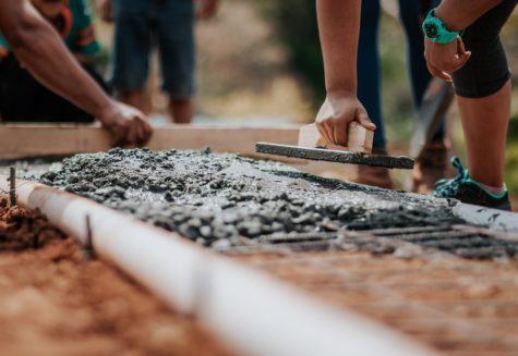 cement building